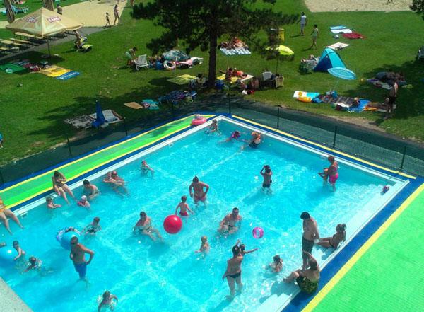 nový oddychový bazén 2014