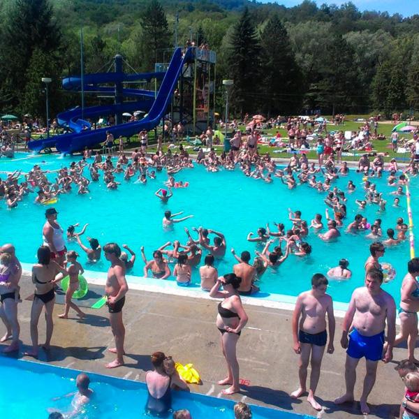 letný 50m bazén