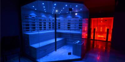 saunový svet, vírivky, masáže