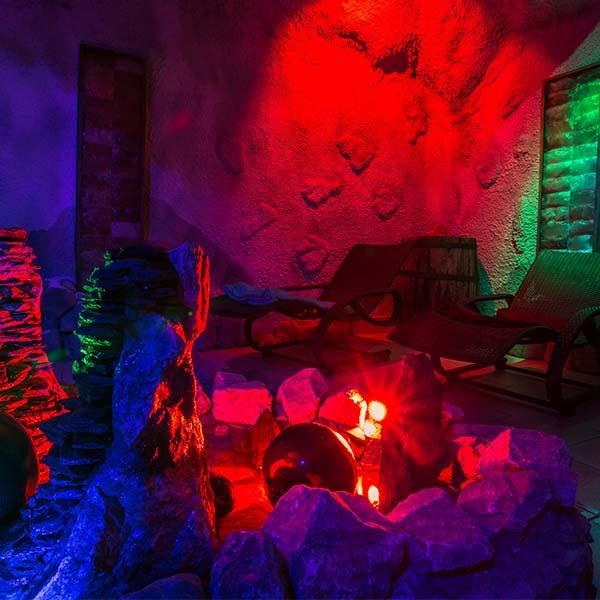 Sauny a soľná jaskyňa