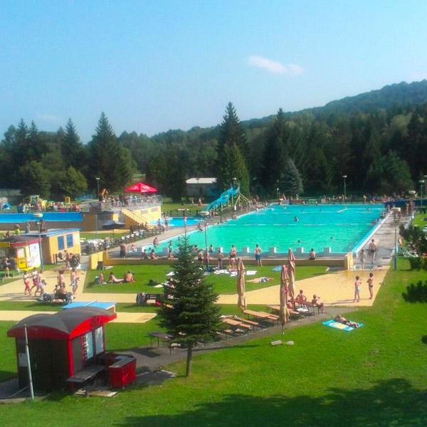 50m bazén Aquaruthenia