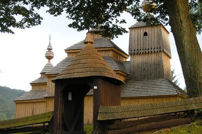 Kościółki Karpackie drewniane