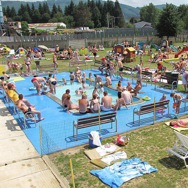 basen dziecięcy w Svidniku przed rokiem 2014