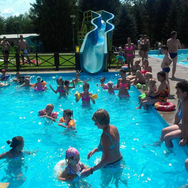 basen dojazdovy zjeżdżalni maksy