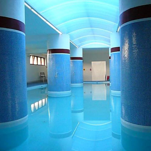 krytý letný bazén