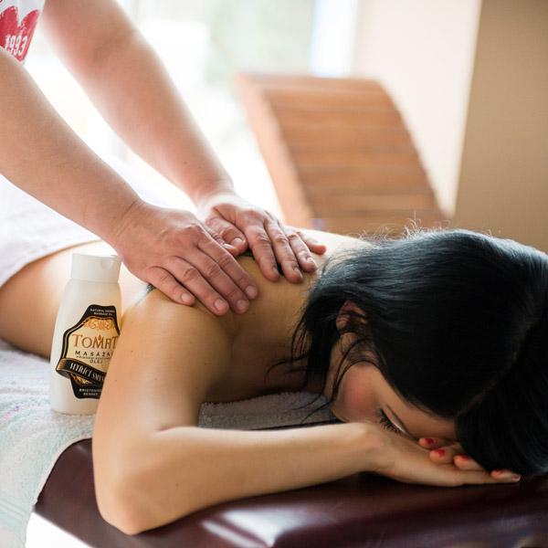masáž v Aquaruthenii Svidník