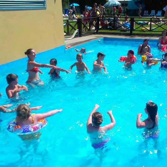 mini aquadisco dla dzieci