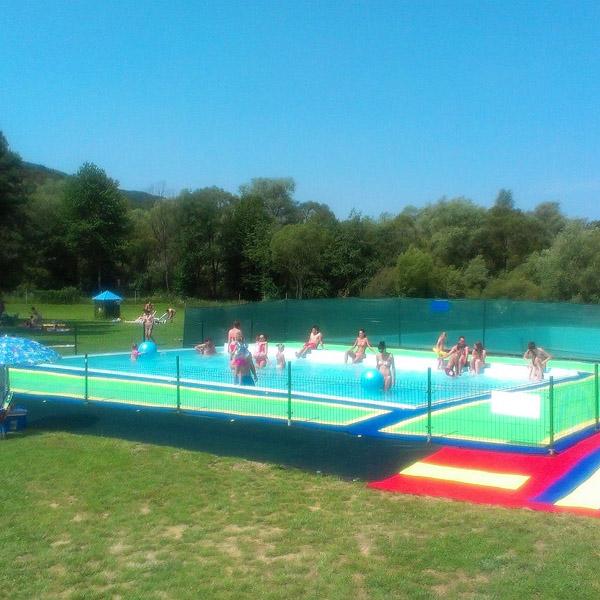 nový vonkajší oddychový bazén