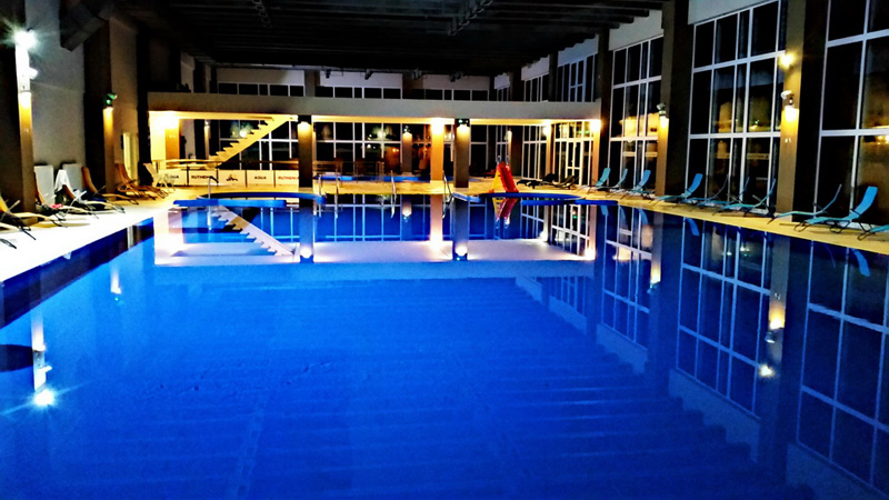 plavecký bazén Aquaruthenia