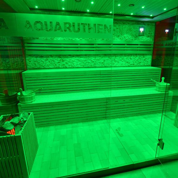 jedna z saun w Aquaruthenii