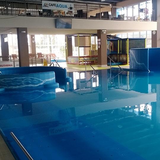 relaxačný bazén Svidník
